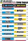 Airjam_timetable